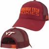 Virginia Tech Travel Slouch Adjustable Meshback Cap by Adidas