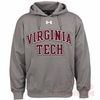 Virginia Tech UA ArmourFleece Hoodie with Applique