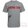 Virginia Tech Under Armour Charged Cotton T-Shirt