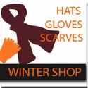 Virginia Tech Winter Hats, Gloves, & Scarves