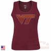 Virginia Tech Womens Bling Tank Top