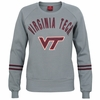 Virginia Tech Womens Lunar Scoop Neck Fleece