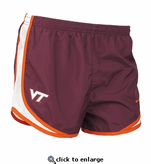 Virginia Tech Womens Nike Tempo Shorts