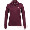 Virginia Tech Womens UA Verve 1/2 Zip Performance Top