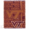 Virginia Tech Woven Throw Blanket