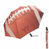 "Virginia Tech 48"" Football Folding Umbrella"