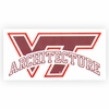 VT Architecture Decal