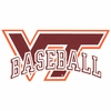 VT Baseball Decal