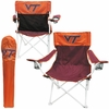 Virginia Tech Big Boy Tailgate Chair