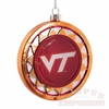 VT Blown Glass Disc Ornament