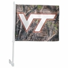 Virginia Tech Camo Car Flag