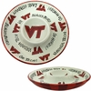Virginia Tech Ceramic Chip and Dip Platter