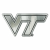 Virginia Tech Chrome Automobile Emblem