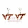 VT Crystal Logo Earrings