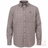 Virginia Tech Cutter & Buck Completion Plaid Shirt