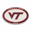 Virginia Tech Dad Auto Magnet