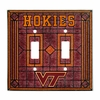 Virginia Tech Double Light Switch Cover