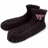 VT Fleece Lined Nepali Wool Slipper Socks