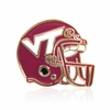VT Football Hemet Lapel Pin