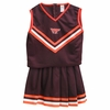 Virginia Tech Girls Cheerleader Outfit