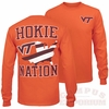 VT Hokie Nation Long Sleeved Tee