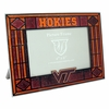 VT Hokies Art Glass Frame