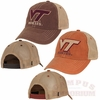 VT Hokies Dirty Mesh Trucker Hat