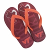 Virginia Tech Hokies Flip Flops