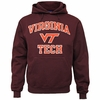 Virginia Tech Maroon Hooded Sweatshirt
