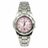 Virginia Tech Ladies Pink Mother of Pearl Watch