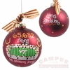 VT Lane Stadium Ball Ornament
