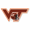 VT Logo and Football Helmet Decal