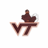 VT Logo and Hokie Bird Decal