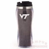 Virginia Tech Logo Glitter Tumbler