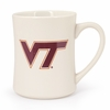Virginia Tech Logo White Mug