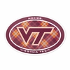 VT Logo Plaid Euro Decal