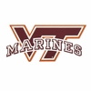VT Marines Decal