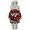 Mens Maroon and Silver Virginia Tech Dynasty Watch