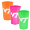 Virginia Tech Neon Stadium Cups