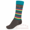 VT Neon Striped Socks