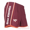 Virginia Tech Womens Dri-Fit Running Shorts