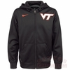 VT Nike Therma-FIT Black Full-Zip