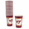 Virginia Tech Paper Party Cups