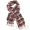VT Plaid Chic Runched Scarf