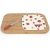 Virginia Tech Polka Dot Cutting Board