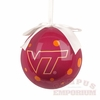 VT Polka Dot Ornament