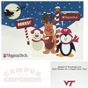 VT Snow Animals Seasons Greeting Card 10pk
