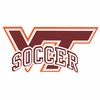 VT Soccer Decal