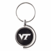 Virginia Tech Spinner Key Ring