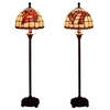Virginia Tech Stained Glass Floor Lamp
